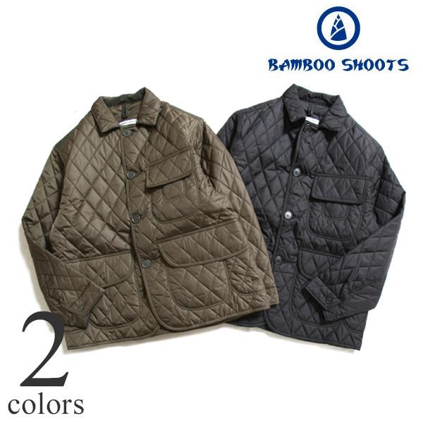 【セール30%OFF】BAMBOO SHOOTS バンブーシュート Mountain Research マウンテンリサーチ バンブーシュート キルティッドハンティングジャケット キルティングジャケット 200301M