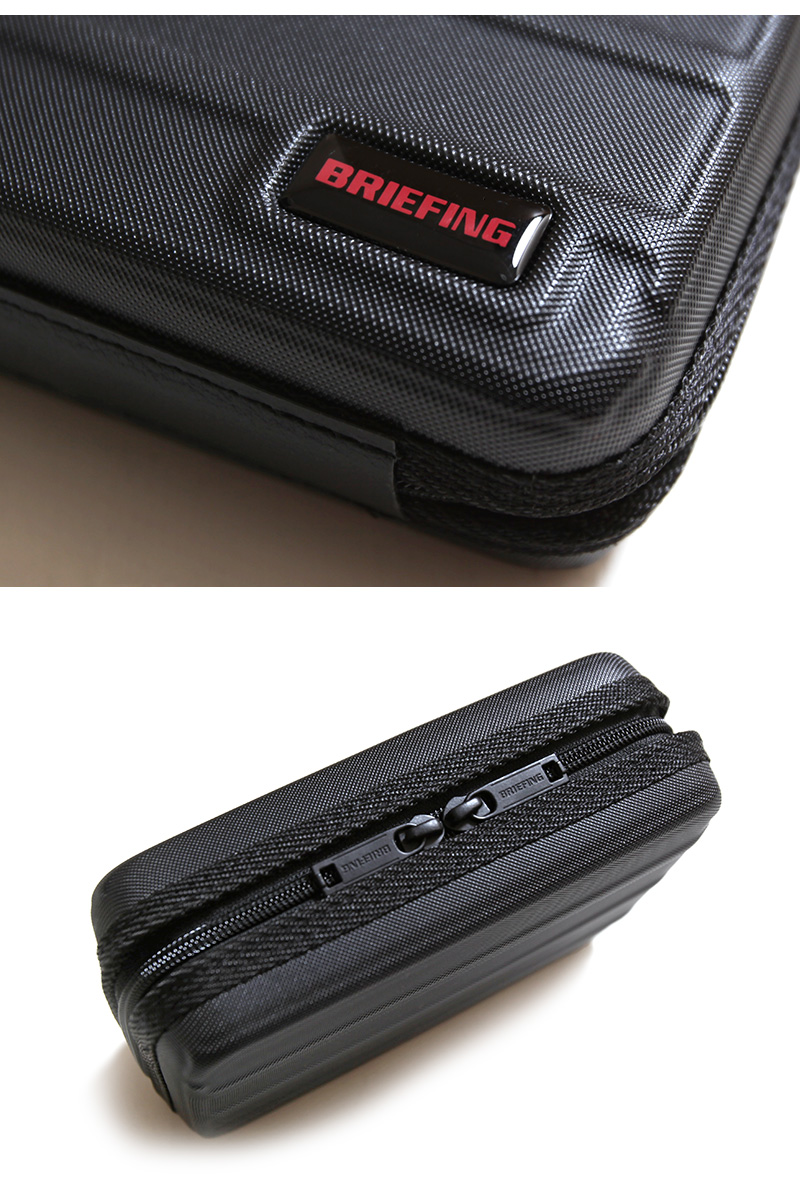 BRIEFING ブリーフィング 限定 GIFT BOX ギフトボックス  ハードケース ボックスポーチ キーホルダー キーリング キーフック ビジネス 旅行 BRA203G03