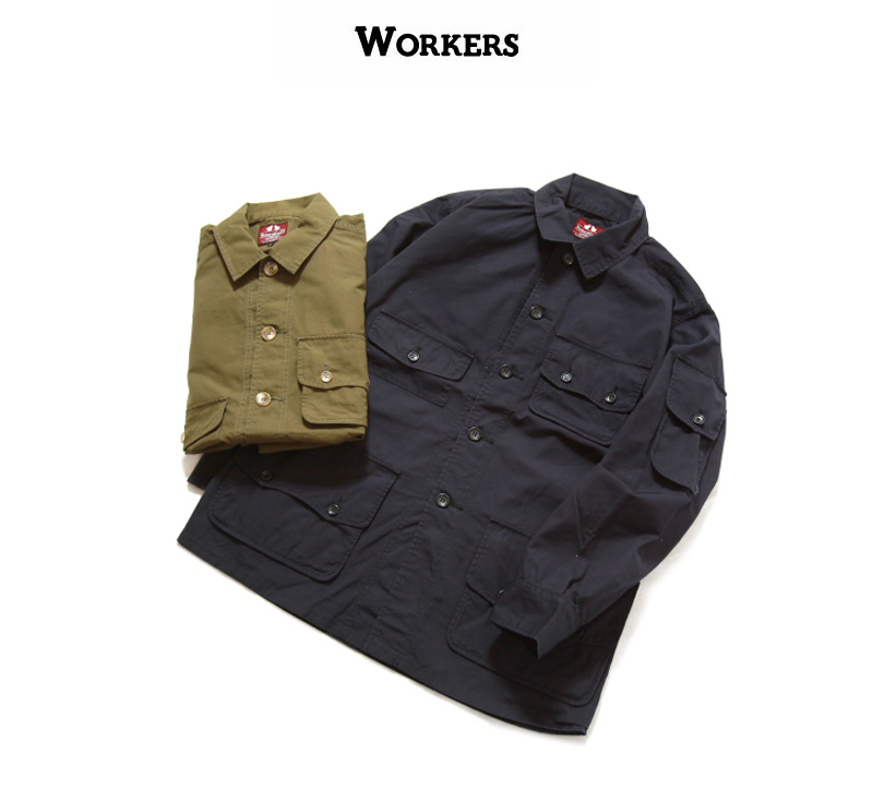 WORKERS ワーカーズ W&Gジャケット 2021年春夏