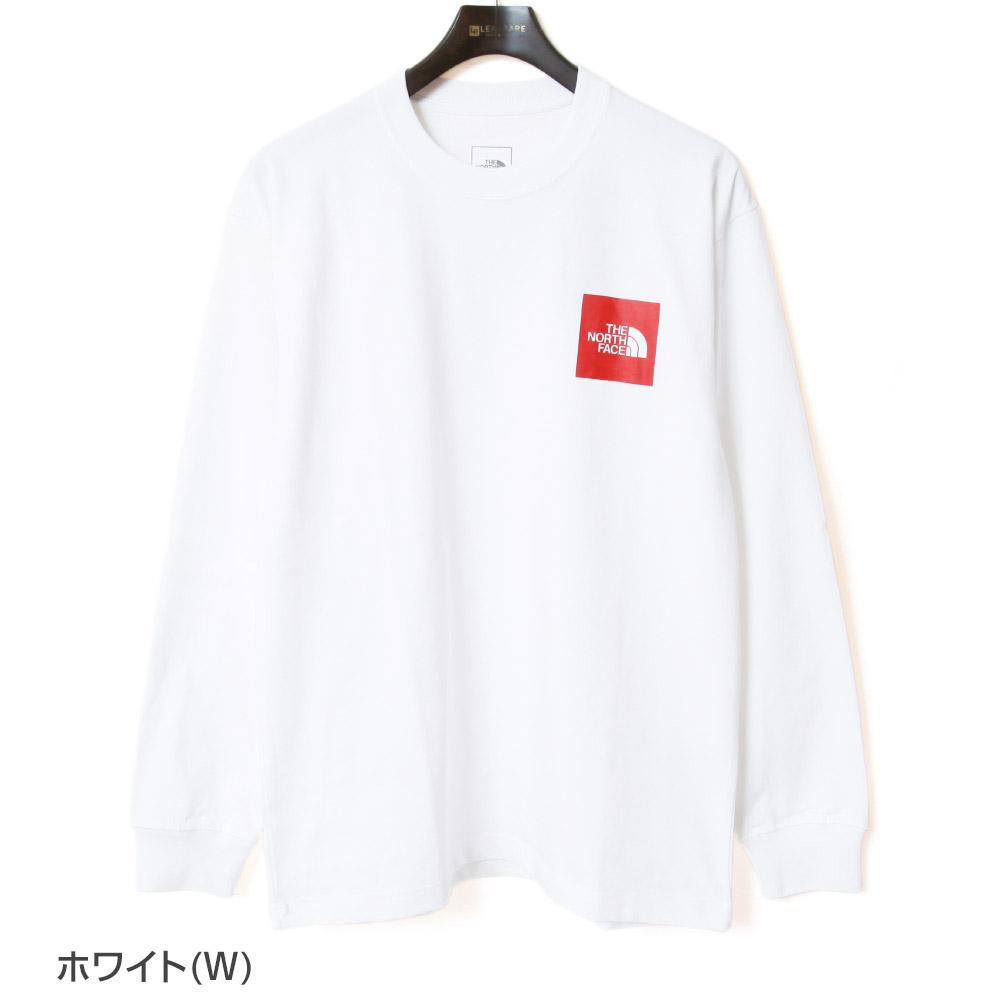 ノースフェイス ロングスリーブスクエアロゴティー THE NORTH FACE L/S Square Logo Tee  長袖 Tシャツ メンズ ロンT NT82136