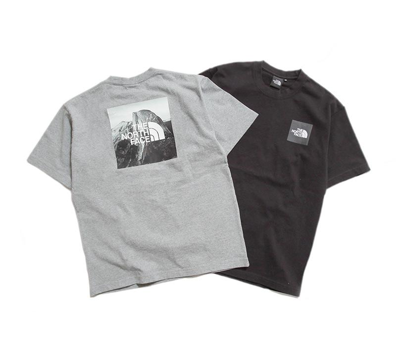 ノースフェイス Tシャツ ショートスリーブピクチャードスクエアロゴティー THE NORTH FACE NT32036