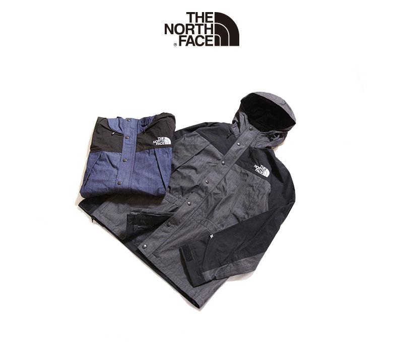 ノースフェイス マウンテンライトデニムジャケット THE NORTH FACE Mountain Light Denim Jacket NP12032