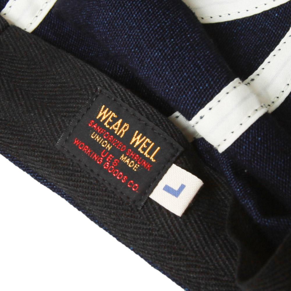 UES ウエス キャスケット シャンブレー デニム インディゴ ハンチング メンズ 822153 帽子