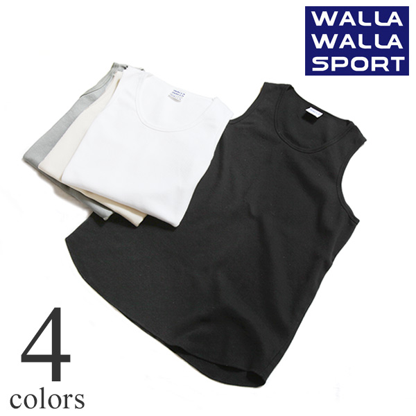WALLA WALLA SPORT ワラワラスポーツ THERMAL LAYERING TANKTOP サーマル レイヤリング タンクトップ 50007-SR