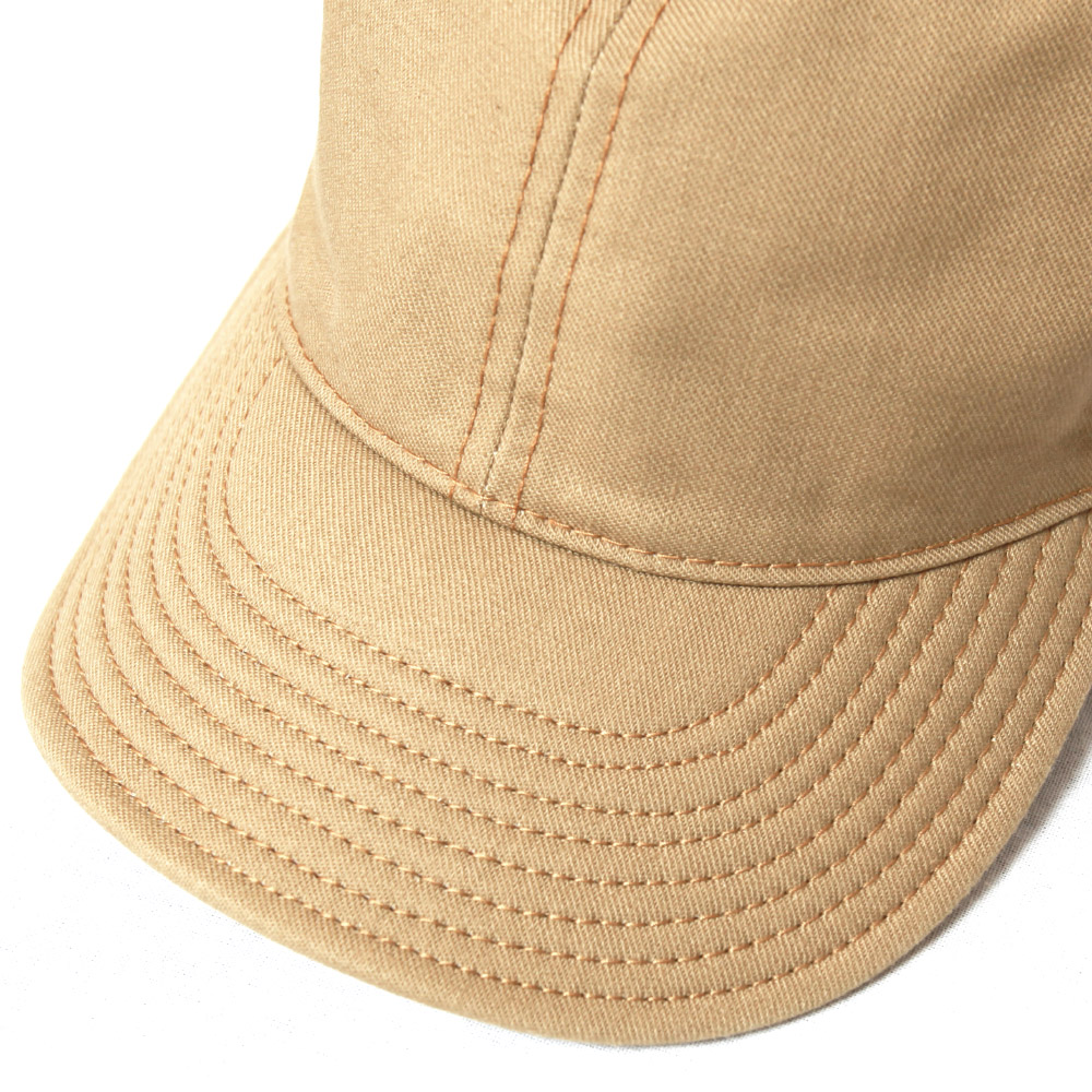 UES ウエス プリントベースボールキャップ 822151 帽子 メンズ チノクロス カジュアル