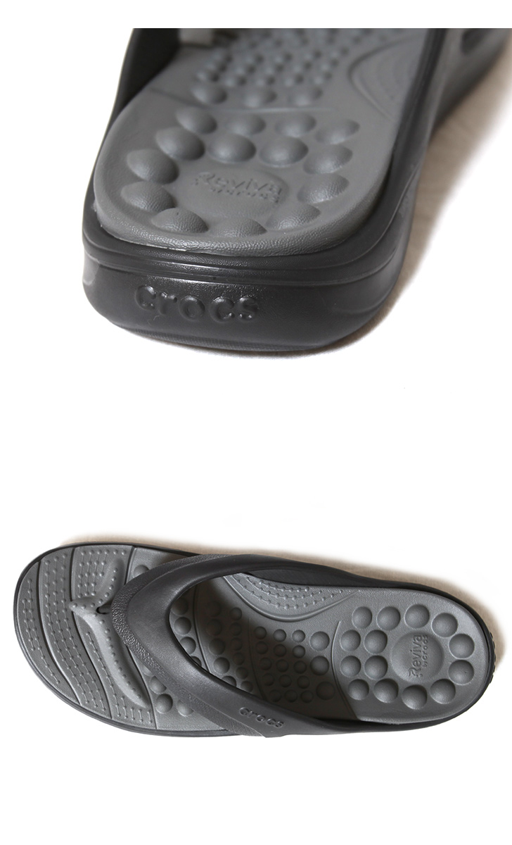 crocs クロックス Reviva Flip リバイバ フリップ 205545 サンダル ビーチサンダル 健康サンダル 205545