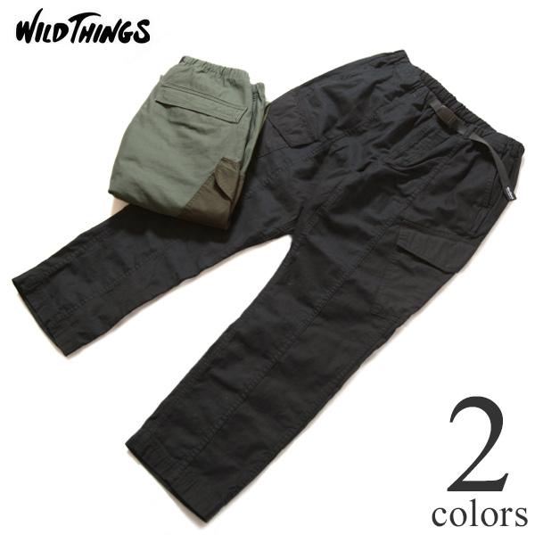 ワイルドシングス Wild Things バックサテンフィールド カーゴパンツ ミリタリー BACKSATIN FIELD CARGO PANTS WT21007AD
