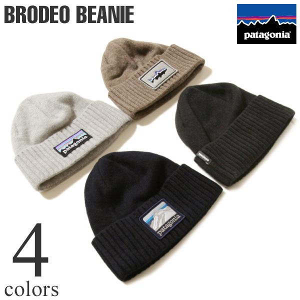 patagonia パタゴニア Brodeo Beanie ブロデオ・ビー二ー ニットキャップ 29206 国内正規品