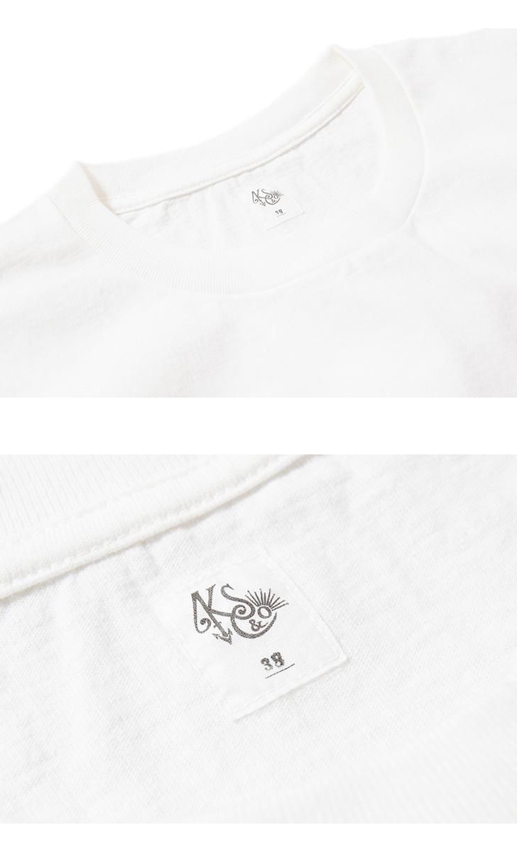 キャプテンサンシャイン ウエストコーストロングスリーブTシャツ ラインプリント長袖Tシャツ KAPTAIN SUNSHINE KS21SCS09