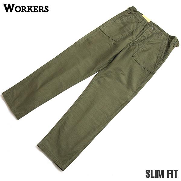WORKERS ワーカーズ Baker Pants ベーカーパンツ スリムフィット