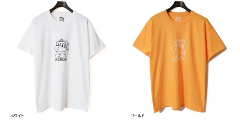 【超特価セール50%OFF/返品交換不可】BAMBOO SHOOTS バンブーシュート プリントTシャツ BACKPACK 2102000