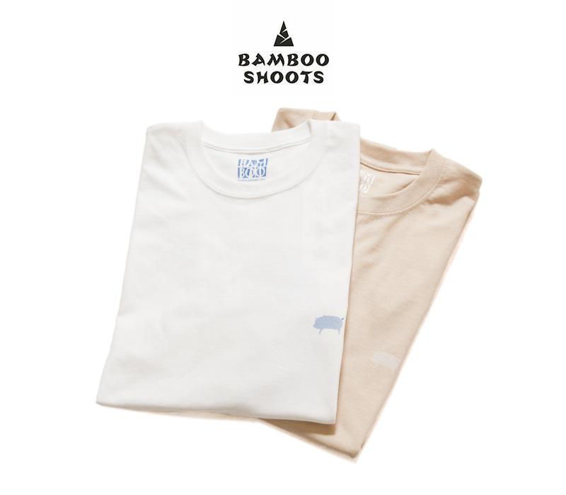 【超特価セール50%OFF/返品交換不可】BAMBOO SHOOTS バンブーシュート プリントTシャツ HEAVY AS HELL 2102004