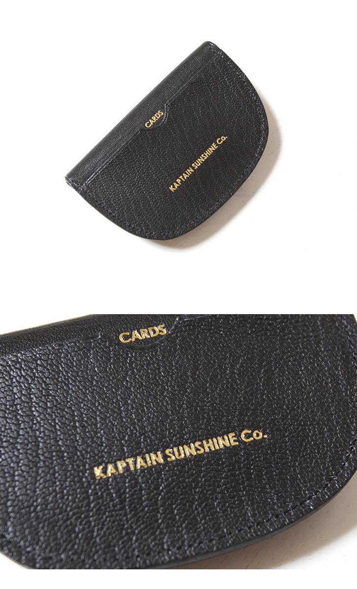 KAPTAIN SUNSHINE×PORTER Goat Skin Round Wallet キャプテンサンシャイン×ポーター ゴートスキン ダブルフラップウォレット KS21SGD07