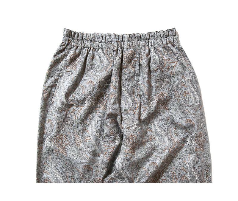 Kaptain Sunshine キャプテンサンシャイン アスレチックイージーパンツ Athletic Easy Pants Grey Paisley KS21SPT03