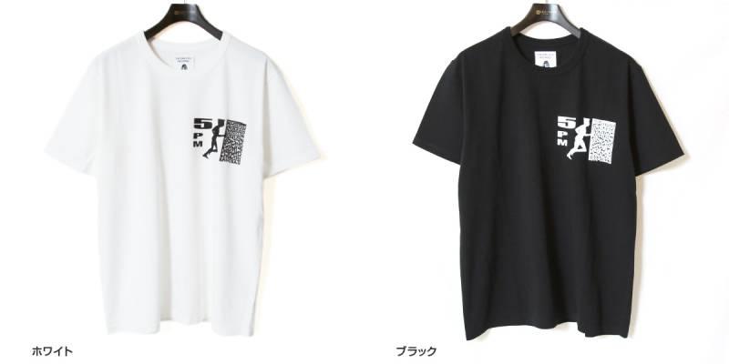 Tacoma Fuji Records タコマフジレコード プリントTシャツ 5PM Tee designed by Satoshi Suzuki 半袖Tシャツ