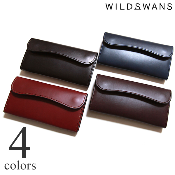 WILDSWANS ワイルドスワンズ WAVE ウェイブ イングリッシュブライドル 長財布 ロングウォレット