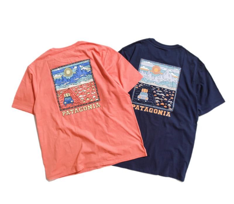 patagonia パタゴニア メンズ・サミット・ロード・オーガニック・Tシャツ 38537