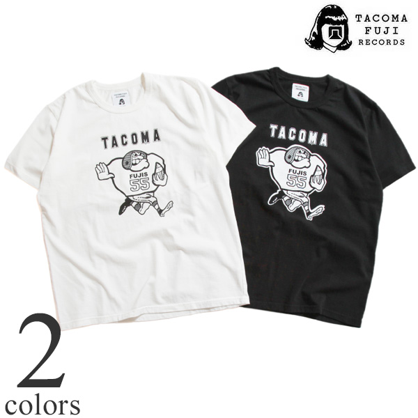 Tacoma Fuji Records タコマフジレコード プリントTシャツ designed by MATT LEINES 半袖Tシャツ