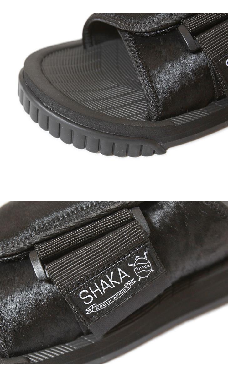 シャカ エックスパッカー カウヘア サンダル SHAKA X-PACKER COWHAIR スポーツサンダル メンズ レディース 433153