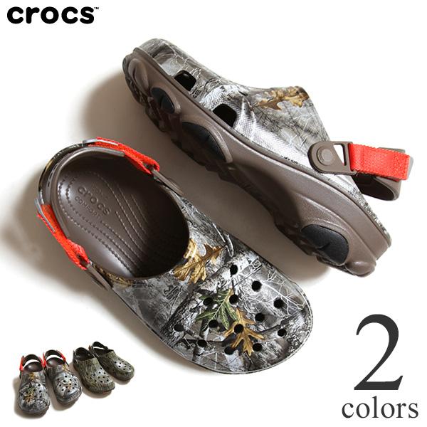 CROCS クロックス CLASSIC ALL TERRAIN CLOG クラシック オール テレイン クロッグ カモフラージュ ユニセックス メンズ レディース カーキ ウォルナット