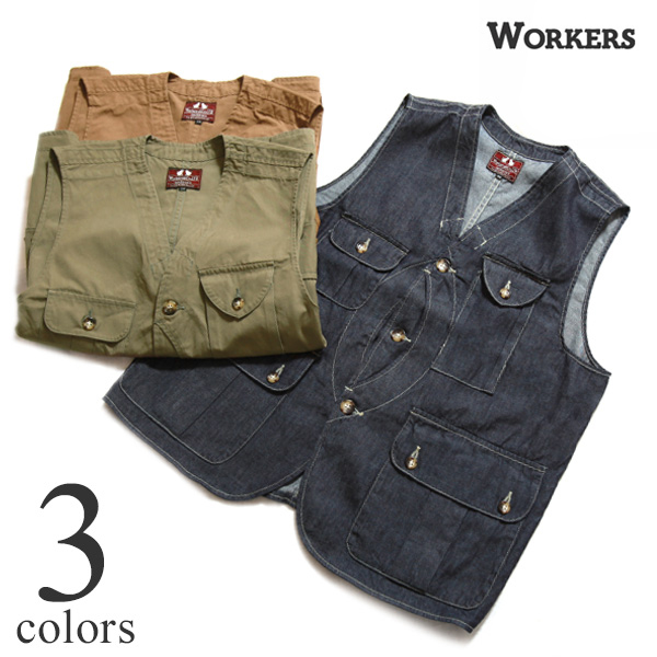 WORKERS ワーカーズ ベスト W&G Vest Willis & Geiger ウィリスアンドガイガー