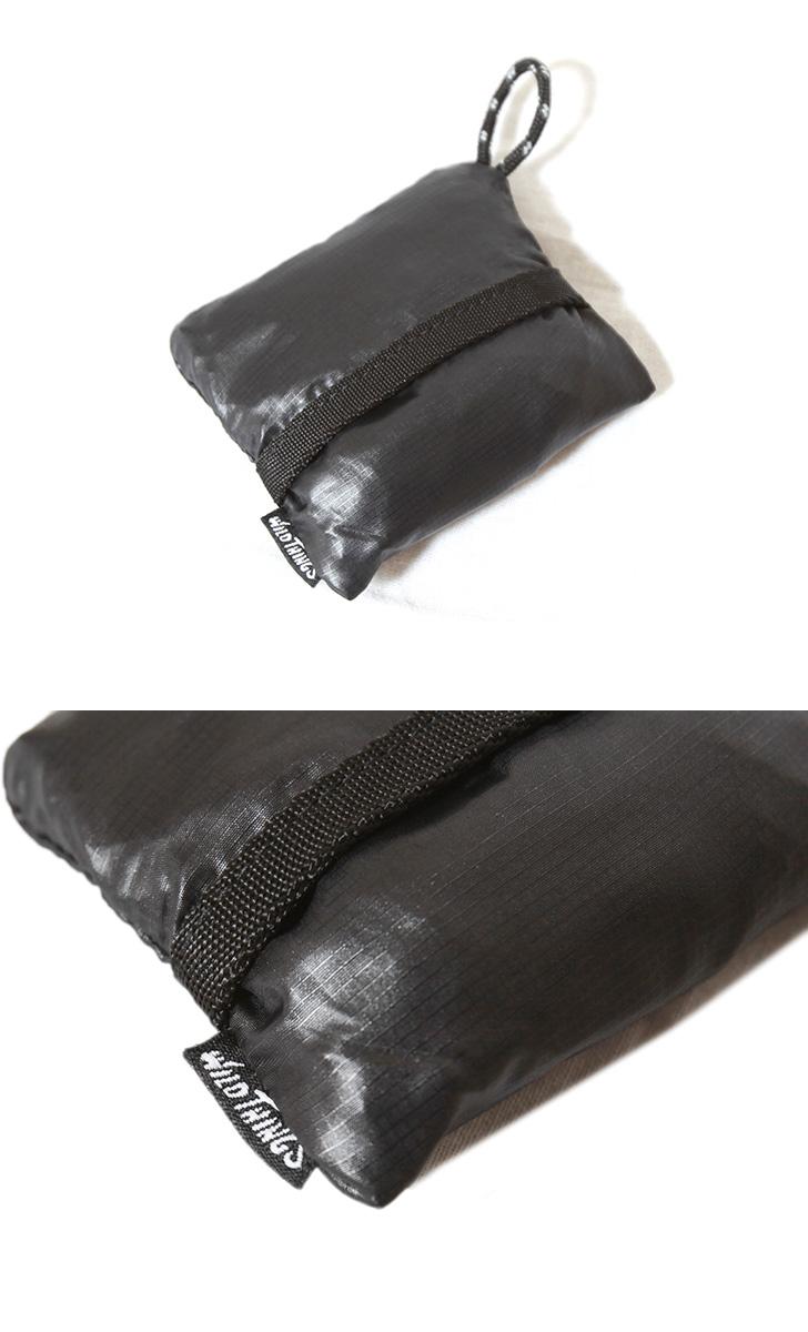 WILDTHINGS ワイルドシングス ネックポーチ エコバッグ NECK POUCH TYPE MA1 サコッシュ 財布 WT-IJ-XV-001