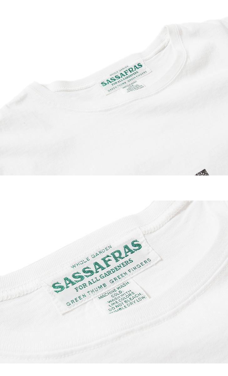 SASSAFRAS ササフラス プリントTシャツ SF4AG SF-211791