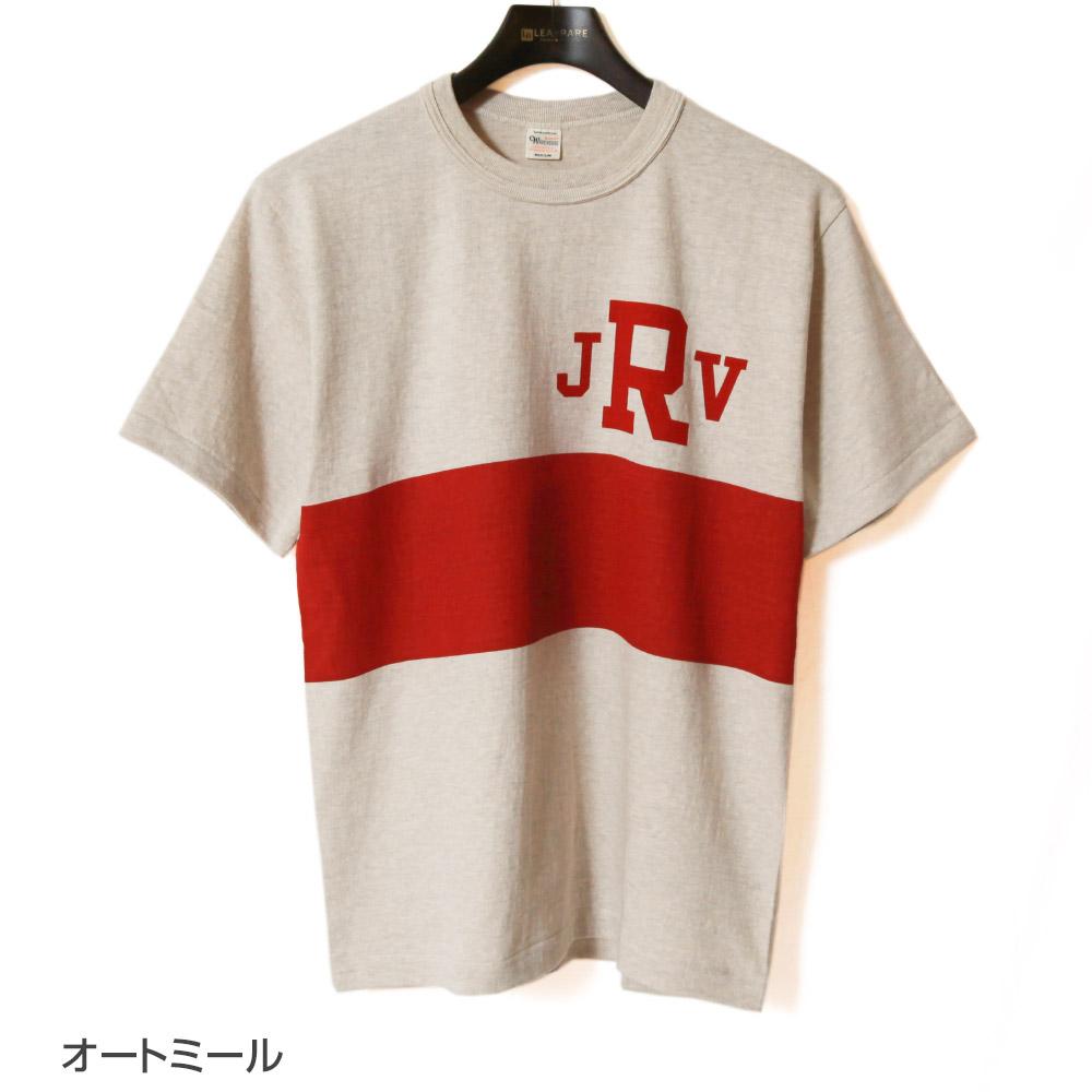 ウエアハウス WAREHOUSE 半袖Tシャツ Lot 4601 JRV プリントTシャツ