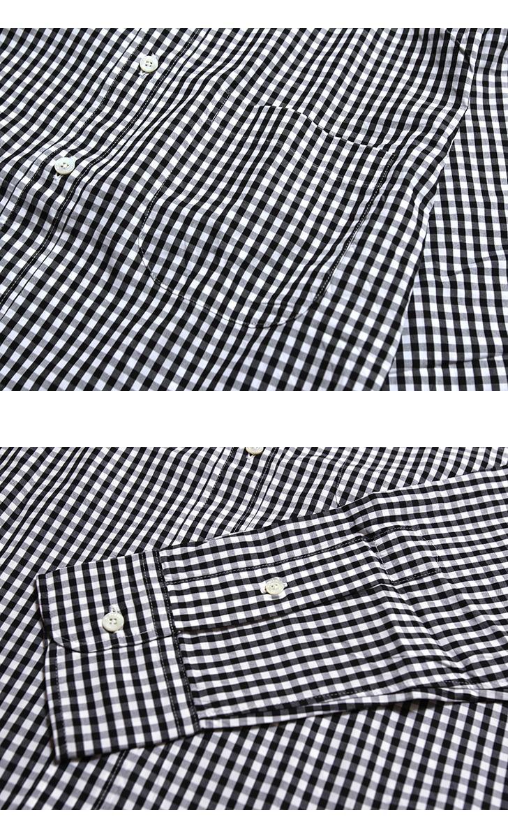 MANUAL ALPHABET マニュアルアルファベット BASIC-ST-002 100双ギンガムBDシャツ スータブルフィット チェックシャツ メンズ
