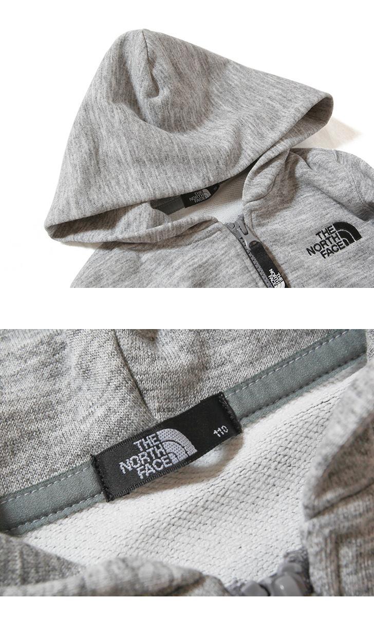 ノースフェイス スクエアロゴフルジップ キッズ パーカー 子供服 THE NORTH FACE Square Logo Full Zip NTJ12116