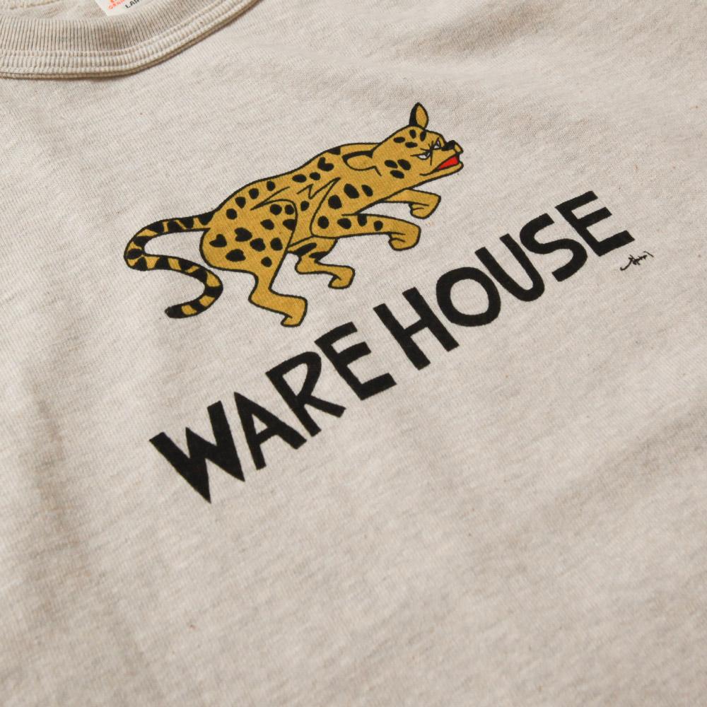 【超特価セール30%OFF/返品交換不可】WAREHOUSE ウエアハウス Yusuke Hanaiコラボモデル プリントTシャツ JAGUAR