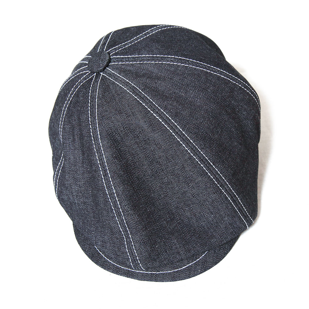 Blue Books Co. ブルーブックスコー Ghetto Boy ゲットーボーイ 10ozデニム ハンチング キャスケット 帽子 メンズ
