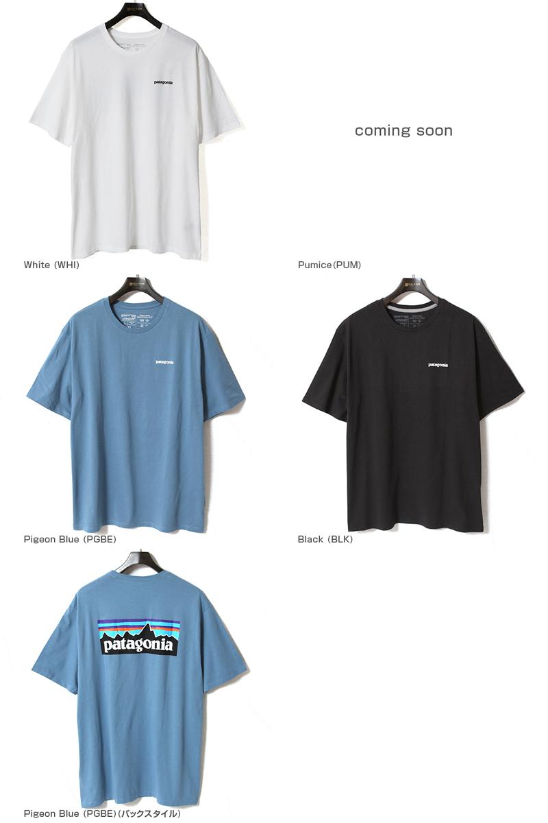 【超特価タイムセール30%OFF/返品交換不可】patagonia パタゴニア 半袖Tシャツ メンズ・P-6ロゴ・オーガニック・Tシャツ M's P-6 Logo Organic T-Shirt 38535
