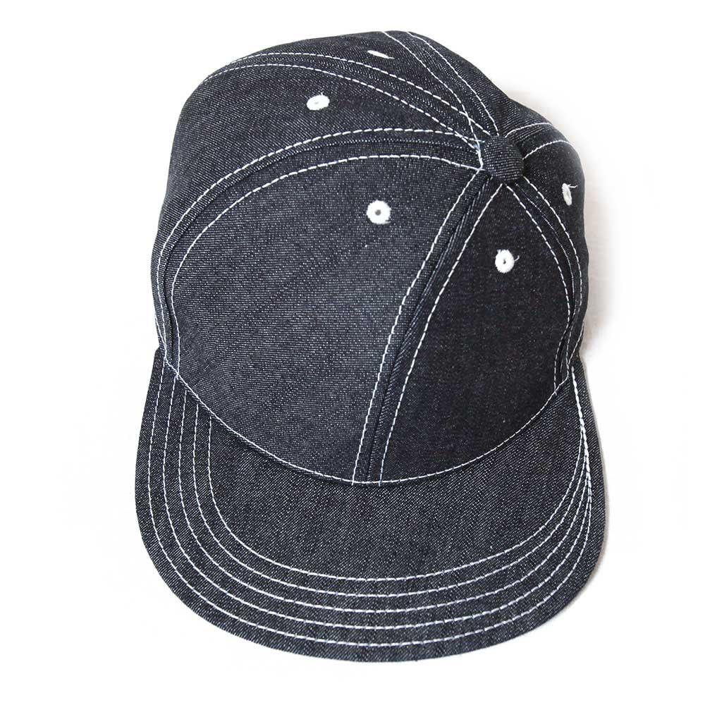 Blue Books Co. ブルーブックスコー Twisty ツイスティ 10ozデニム ベースボールキャップ 帽子 メンズ