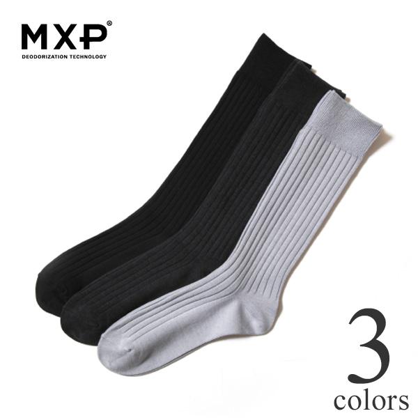 MXP エムエックスピー デオドラント ビジネスソックス 靴下 消臭 ユニセックス MS58301