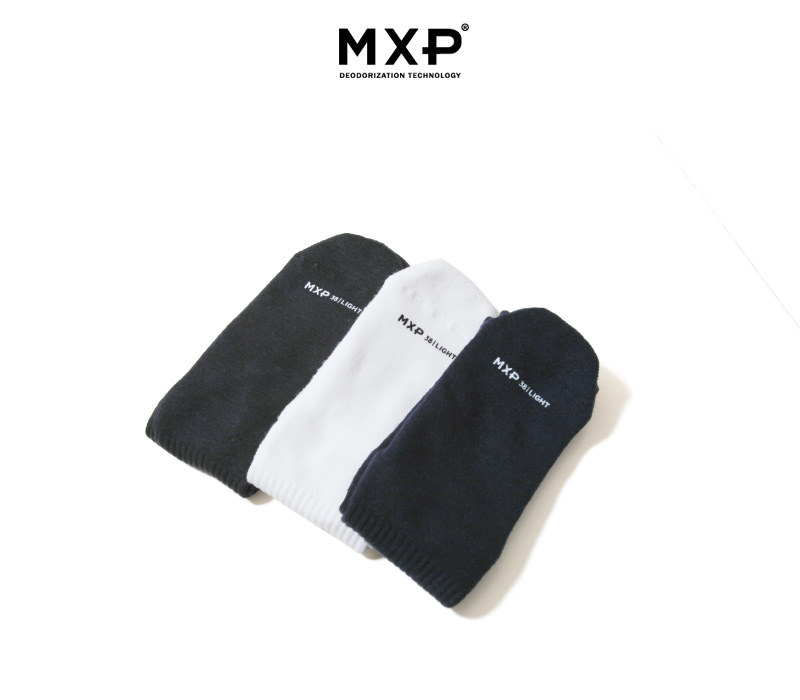 MXP エムエックスピー 靴下 消臭 デオドラント ウォームレギュラーリブソックス ユニセックス MS58302