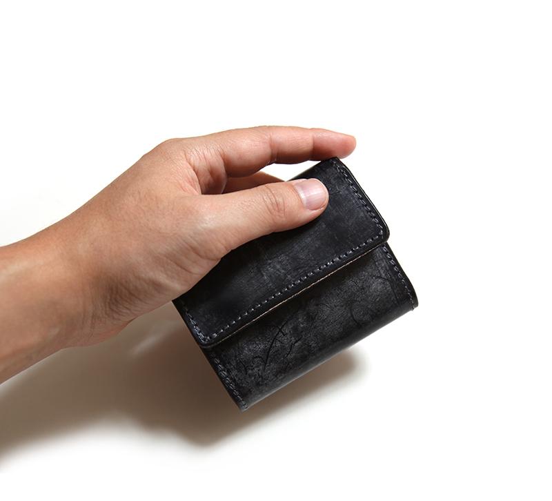 リアクト RE.ACT ブライドル スリーフォールド コンパクトウォレット Bridle Three Fold Compact Wallet 三つ折り革財布 #FNW00015SCBD