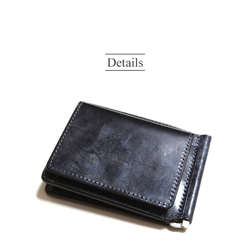 リアクト RE.ACT ブライドル マネークリップ ウォレット Bridle Money Clip Wallet #FGW00011SCBD