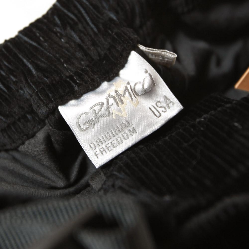 Gramicci グラミチ コーデュロイ ルーズテーパードパンツ GUP-21F047 メンズ ワイド ゆったり