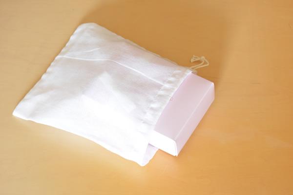 晒(さらし)巾着袋Mサイズ【ゆうパケット】