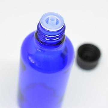 青色遮光ビン50ml(精油専用ドロッパー付)