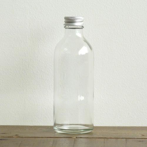 アルミキャップのガラスボトル250ml