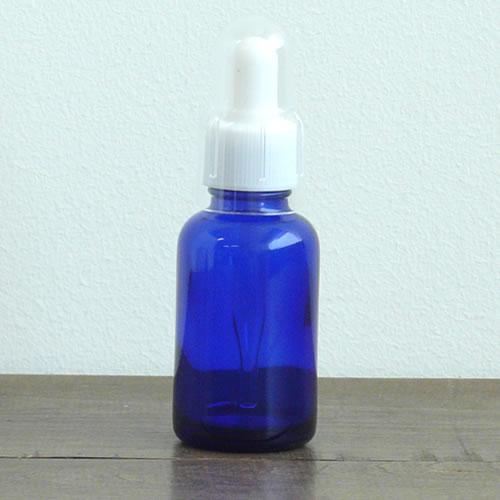 スポイトガラスボトル(ブルー)30ml