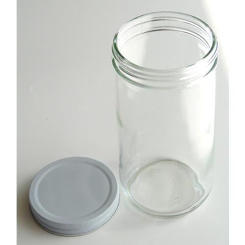 広口ガラスボトル800ml