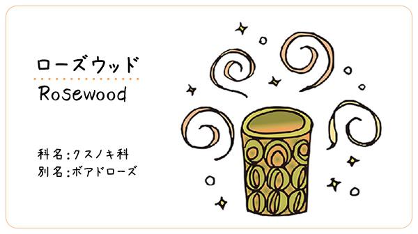 ローズウッド 5ml【ゆうパケットOK】