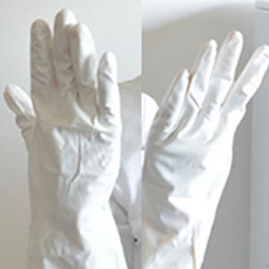 ゴム手袋【ゆうパケットOK】(手作り石けんの必需品)