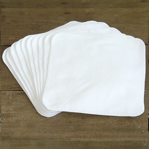 ミニタオルハンカチ20×20cm【今治製】 白10枚セット【ゆうパケット 1セットまで】