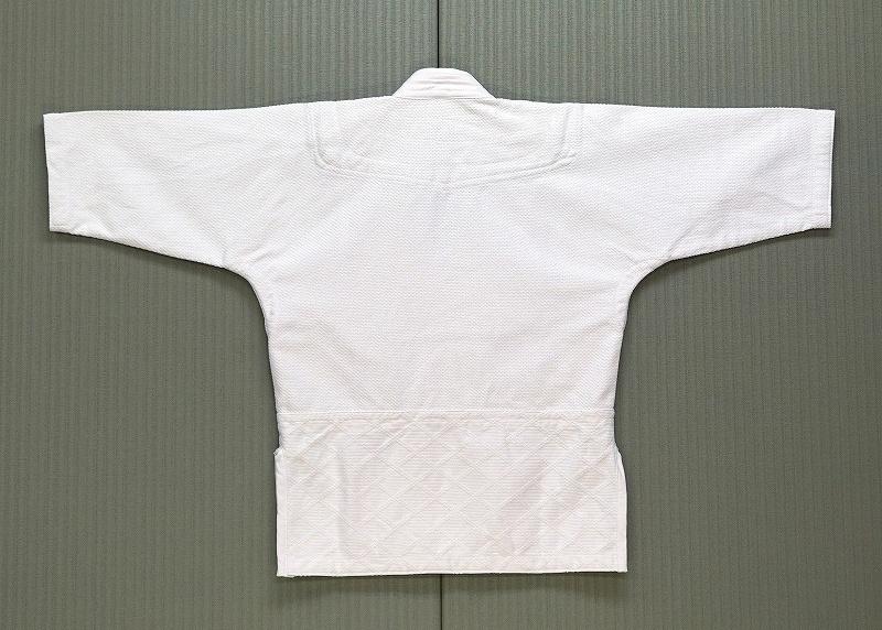純綿高級合気道衣『翡翠』 (ひすい:Hisui) 上衣