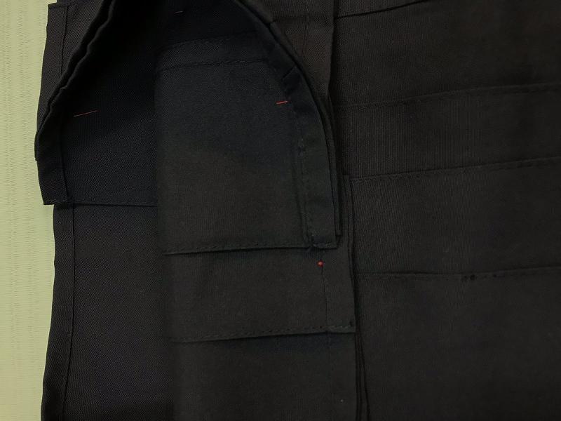 2020年新商品 高級消臭天竺袴 JHb(黒) ※合気会公認