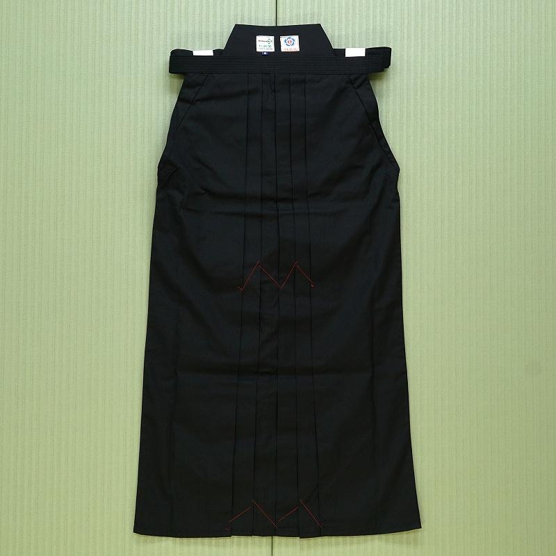 テトロン合気道袴 NHb(黒) ※合気会公認合気道袴